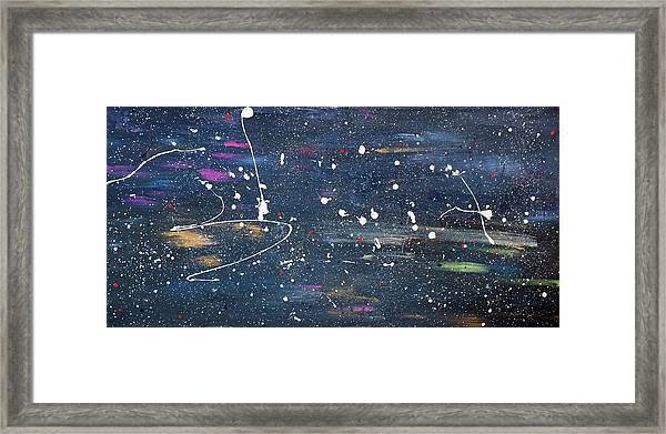 Framed Print featuring the painting Sea Of Love by Michael Lucarelli