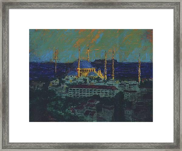 Sea Of Marmara Framed Print