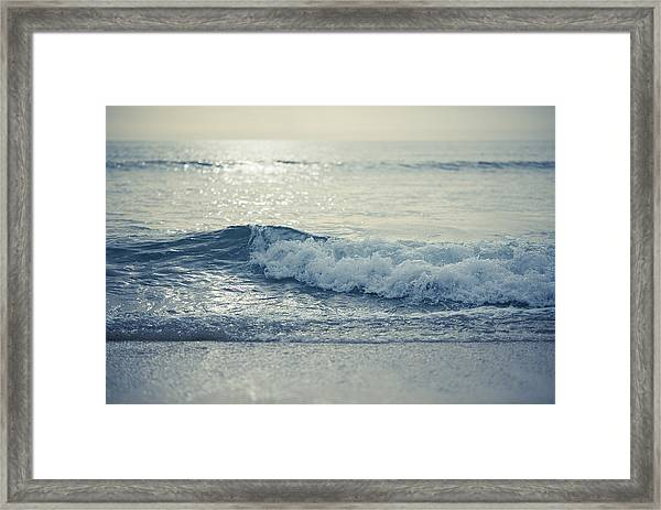 Sea Of Possibilities Framed Print