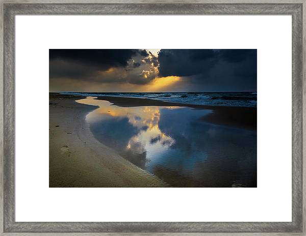Sea Reflections Framed Print