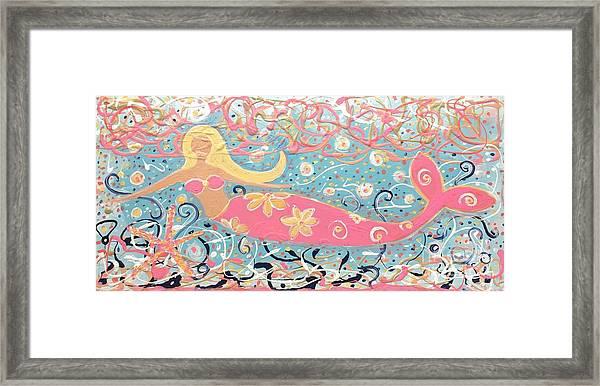 Sea Siren Blondie Framed Print