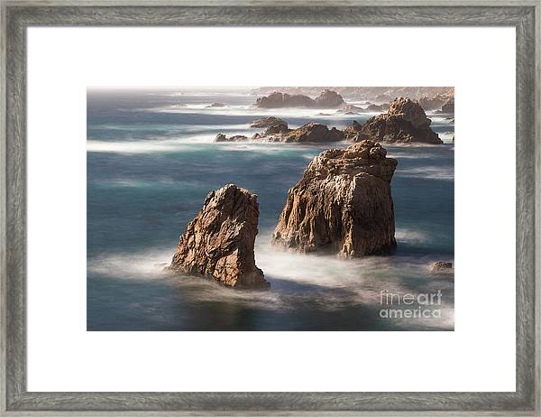 Sea Stacks  Framed Print