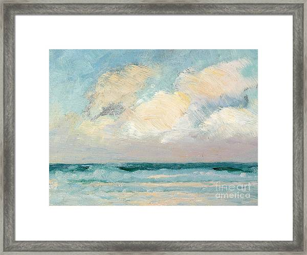 Sea Study - Morning Framed Print