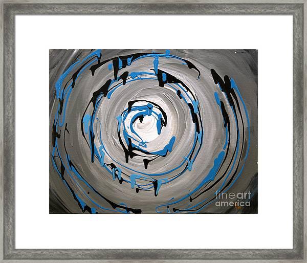 Sea Swirl  Framed Print