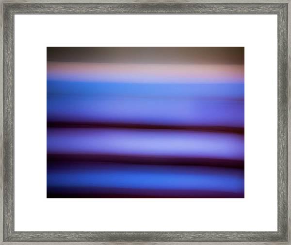 Sea To Land Framed Print