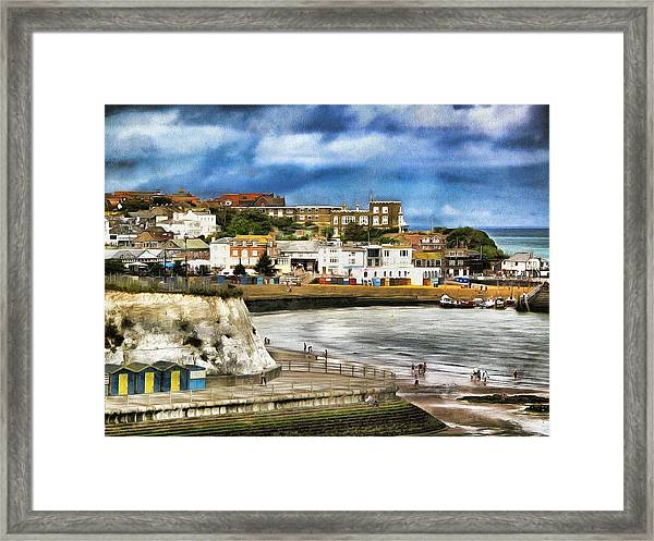 Seafront Broadstairs Kent Framed Print