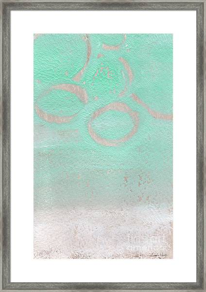 Seaglass Framed Print