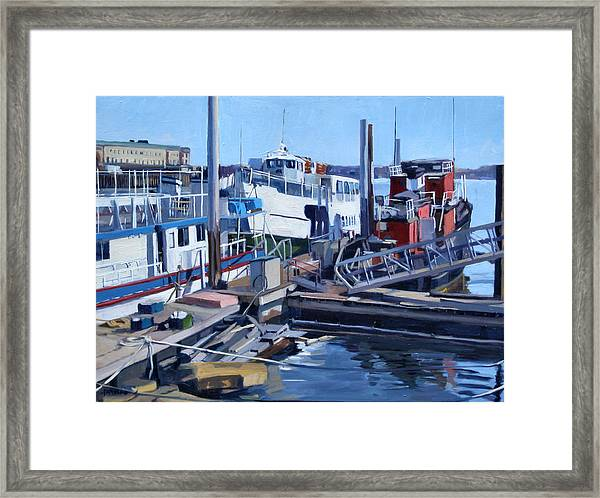 Seaport Ave Framed Print