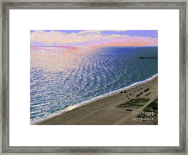 Seascape 1006 Framed Print