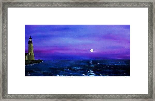 Seascape II Framed Print