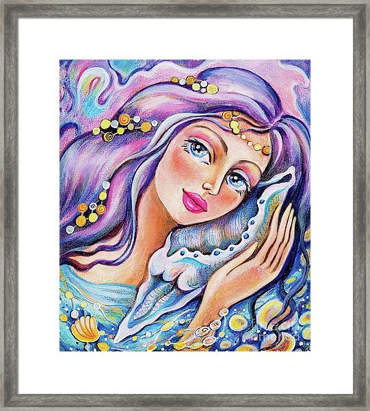 Seashell Reverie Framed Print