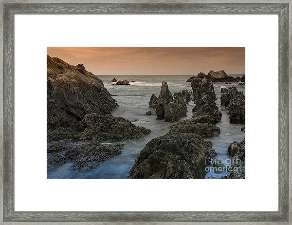 Seaside In My Memory Framed Print by Tad Kanazaki