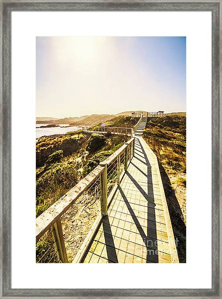 Seaside Perspective Framed Print