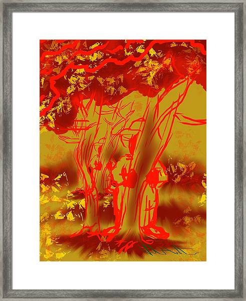 Seasonal Mystery Framed Print