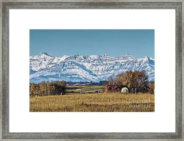 Season's End Framed Print