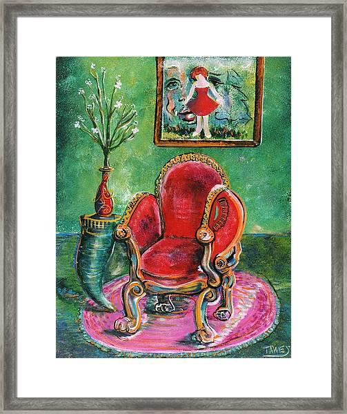 Seat Of Memories Framed Print