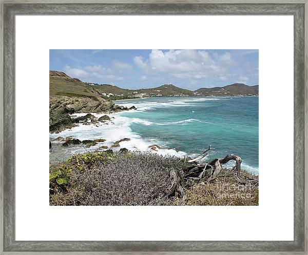 Secluded Beach Framed Print