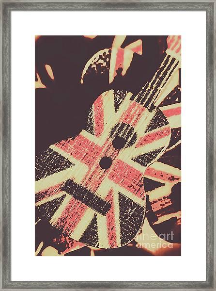 Second British Invasion Framed Print