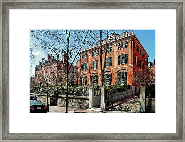 Second Harrison Gray Otis House  Framed Print