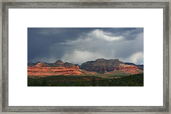 Secret Mountain Framed Print