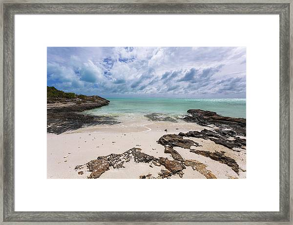 Secret Of West Harbour Framed Print