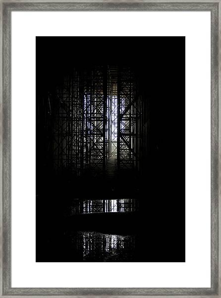 Secret Way Framed Print by Marta Grabska