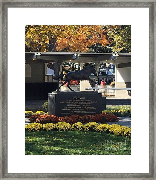 Secretariat 1 Framed Print