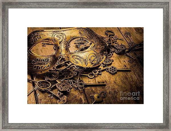 Secrets Of Rome Framed Print