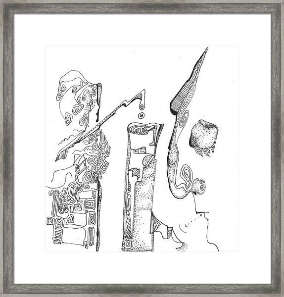 Secrets Of The Engineers Framed Print