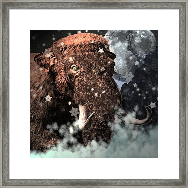 Secrets Of Time Framed Print