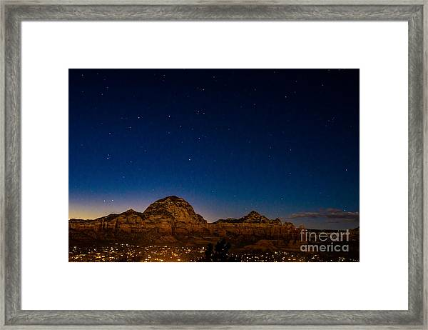 Southwest Framed Print