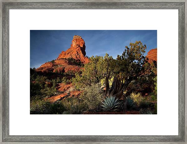 Sedona Desert Framed Print