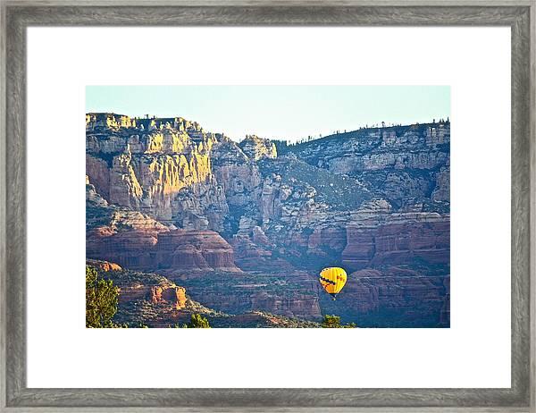 Sedona Morning  Framed Print