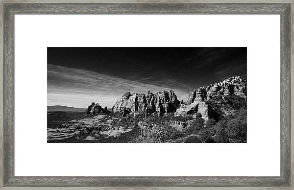 Sedona Reversed Framed Print