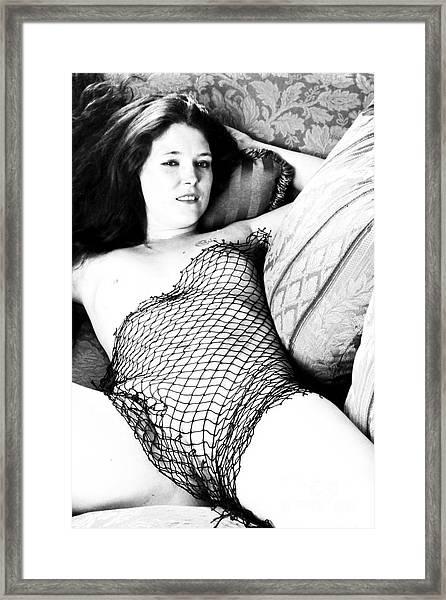 Seduction Of A Strumpet Framed Print