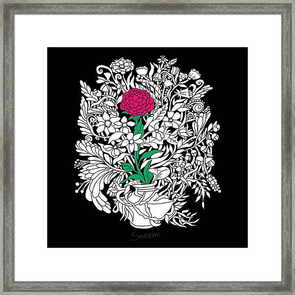 See Only Me Framed Print