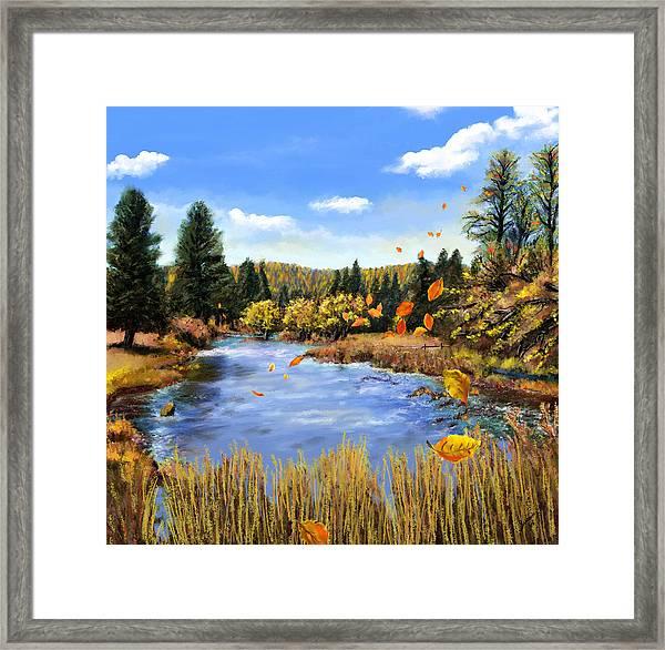 Seeley Montana Fall Framed Print