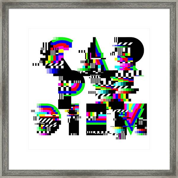Seize The Day Framed Print