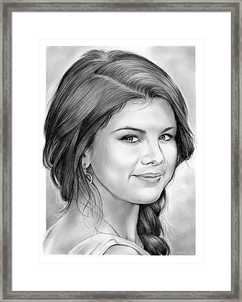 Selena Gomez Framed Print