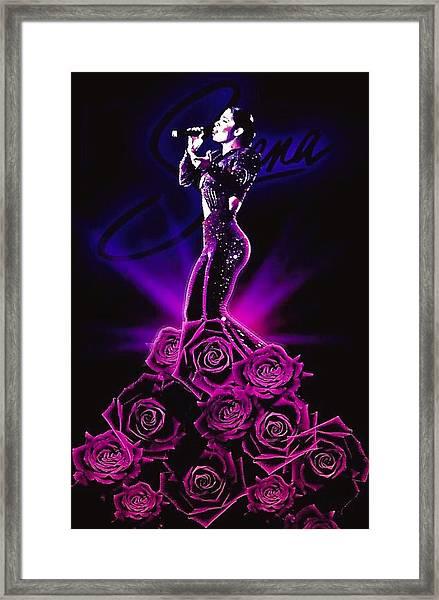 Selena Quintanilla Perez Framed Print