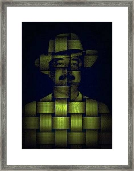 Self - Portrait Framed Print by Teodoro De La Santa