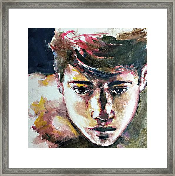 Self Portrait 2016 Framed Print
