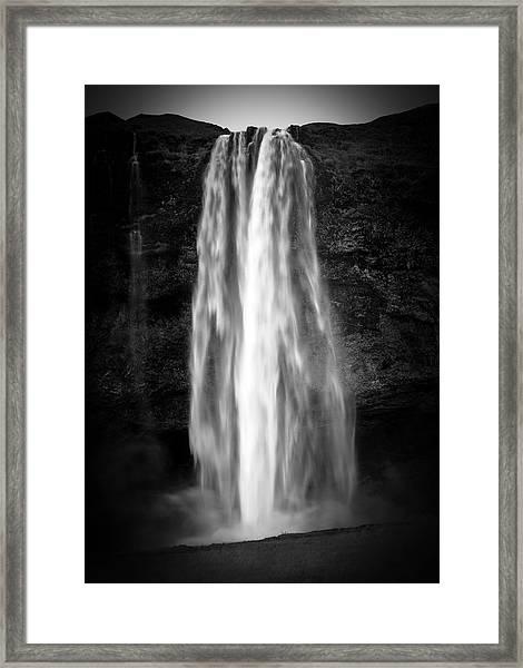 Seljalendsfoss Framed Print