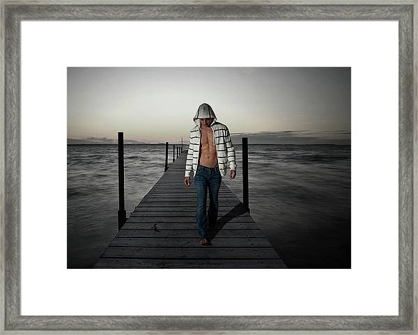 Framed Print featuring the photograph Selkie by Michael Taggart