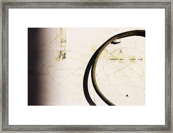 Semi-circle Framed Print by Prakash Ghai