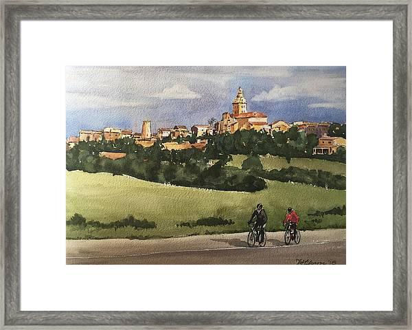 Sencelles, Mallorca Framed Print