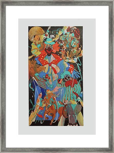 Send In The Clowns Framed Print