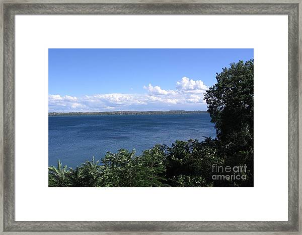 Seneca Lake Finger Lakes New York Framed Print