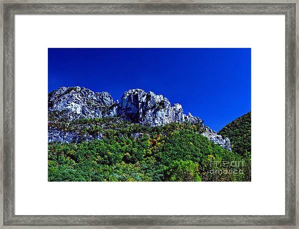 Seneca Rocks National Recreational Area Framed Print