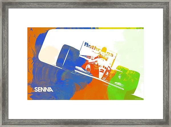 Senna Framed Print